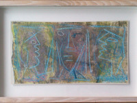 Roy Turner Durrant - Three Heads