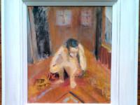 Rose Hilton Sitting Figure